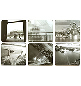 Cinnamon - Sydney Icons Coaster Set 6pce