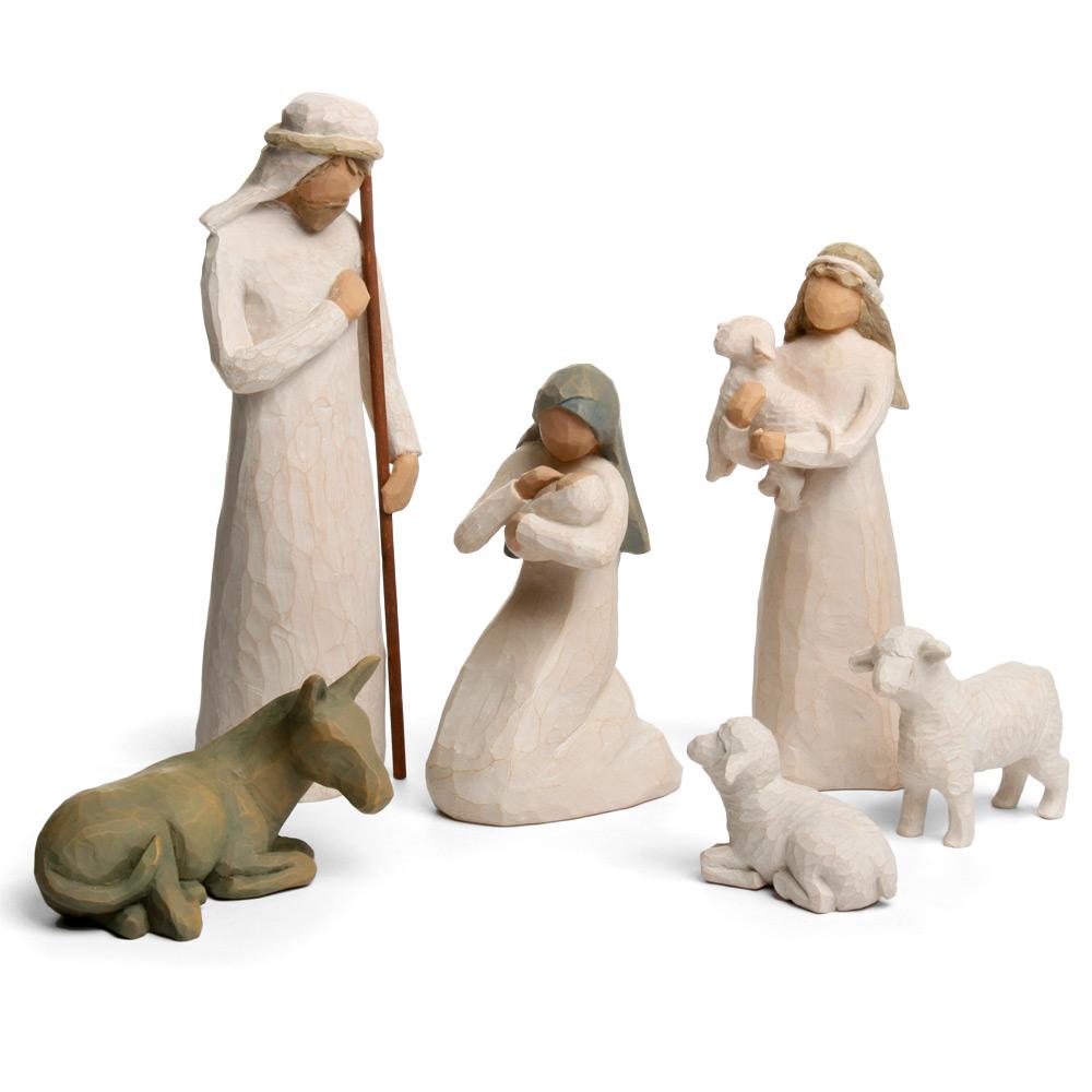 Willow Tree Nativity Set 6pce Peter S Of Kensington