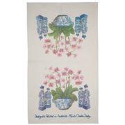 Susie Crooke - Tea Towel Orchids