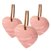 Woodlore - Hearts Scented Wardrobe Hanger Set