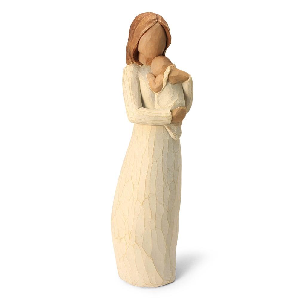 angel of mine demdaco willow tree figurine by susan lordi. Black Bedroom Furniture Sets. Home Design Ideas