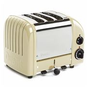 Dualit - Utility Cream 3 Slice Toaster