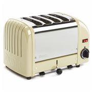 Dualit - NewGen Four Slice Toaster DU04 Utility Cream