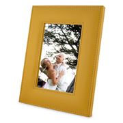Plata Lappas - Maize Leather Photo Frame Yellow 17x12cm