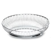 Alessi - Wire Stainless Steel Oval Bowl