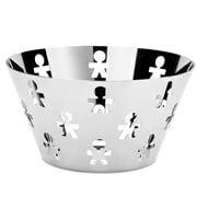 Alessi - Girotondo Boy Bowl Silver 23cm