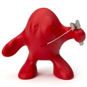 Alessi - Otto Dental Floss Holder Red