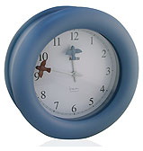 Alessi - Michael Graves Blue Kitchen Clock
