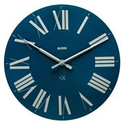 Alessi - Firenze Wall Clock Dark Blue