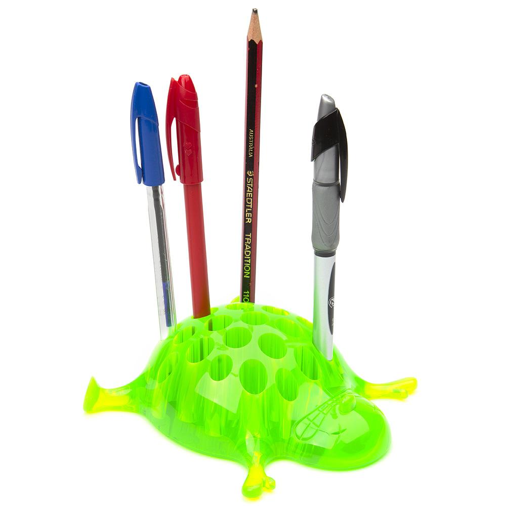 office supplies online sydney  peter's of kensington - alessi  sebastiano pencil holder green