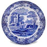 Spode - Blue Italian Buffet Plate 30cm