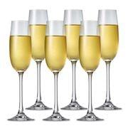 S & P - Salut Champagne Flute Set 6pce