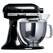 KitchenAid - Artisan KSM150 Black Mixer