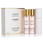 Chanel - Coco Mademoiselle EDT Twist & Spray Purse Spray Set