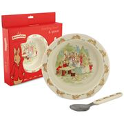 Royal Doulton - Bunnykins Melamine Bowl & Spoon Set