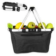 D Line - Shop & Go Black Carry Basket