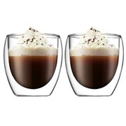 Bodum - Pavina Double-Walled Glass Set 80ml 2pce