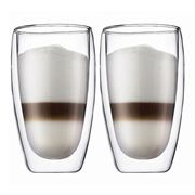 Bodum - Pavina Double Wall Glass Set 450ml 2pce