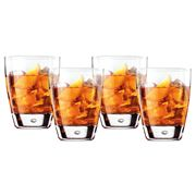 Bormioli Rocco - Aria / Luna Double Old Fashioned Set 4pce
