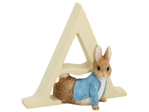 Beatrix Potter - Alphabet Initial A Peter Rabbit | Peter's ...