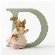 Beatrix Potter - Alphabet Initial D Hunca Munca Sweeping
