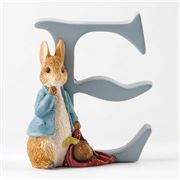 Beatrix Potter - Alphabet Initial E Peter Rabbit with Onion
