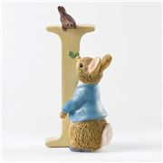 Beatrix Potter - Alphabet Initial I Peter Rabbit