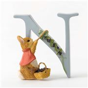 Beatrix Potter - Alphabet Initial N Cotton-Tail