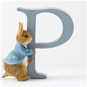 Beatrix Potter - Alphabet Initial P Running Peter Rabbit
