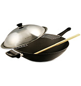 Scanpan - Classic Wok 36cm with S/Steel Lid