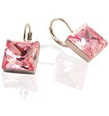 Oliver Weber - Prima Earrings Light Rose