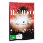 Sony - DVD Il Divo Live At The Greek Theatre