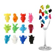 Vacu Vin - Party People Glass Markers Set 12pce