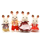 Sylvanian Families - Rabbit Family Figurine Set 4pce