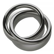 Alessi - Oui Napkin Ring Grey