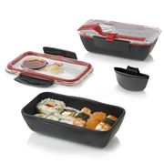 Black+Blum - Box Appetit Bento Box Black & Red