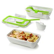 Black+Blum - Box Appetit Bento Box Lime & White