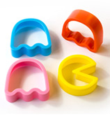 Suck UK - Pac-Man Cookie Cutter Set 4pce