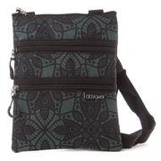 A.T. - Triple Zipper Filigree Travel Bag