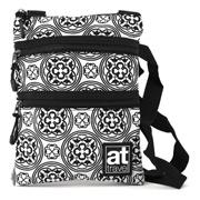Annabel Trends - Triple Zipper Travel Bag Leadlight