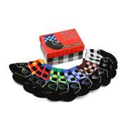 Tippy Toes - Check Mates Baby Sock Set 6pce
