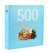 Book - 500 Mediterranean Dishes