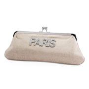 CAM - Paris Diamante Clutch Purse