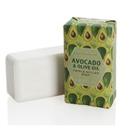 Crabtree & Evelyn - Avocado Olive Oil & Basil Milled Soap