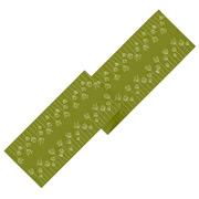 Ogilvies Designs - Table Runner Poppy Field Green