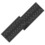 Ogilvies Designs - Poppy Field Table Runner Charcoal