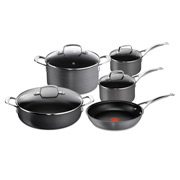 Tefal - Jamie Oliver Anodised Induction Cookware Set 5pce