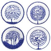 Rob Ryan - Four Seasons Plate Set 4pce