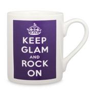 McLaggan Smith - Keep Glam and Rock On Mug