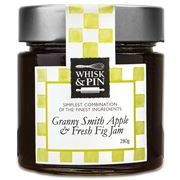 Whisk & Pin - Granny Smith Apple & Fresh Fig Jam 280g